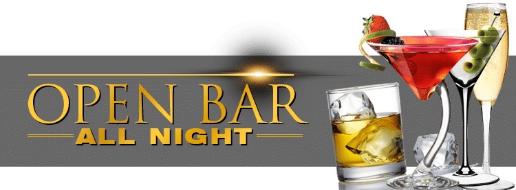 Open Bar New Year Eve Party