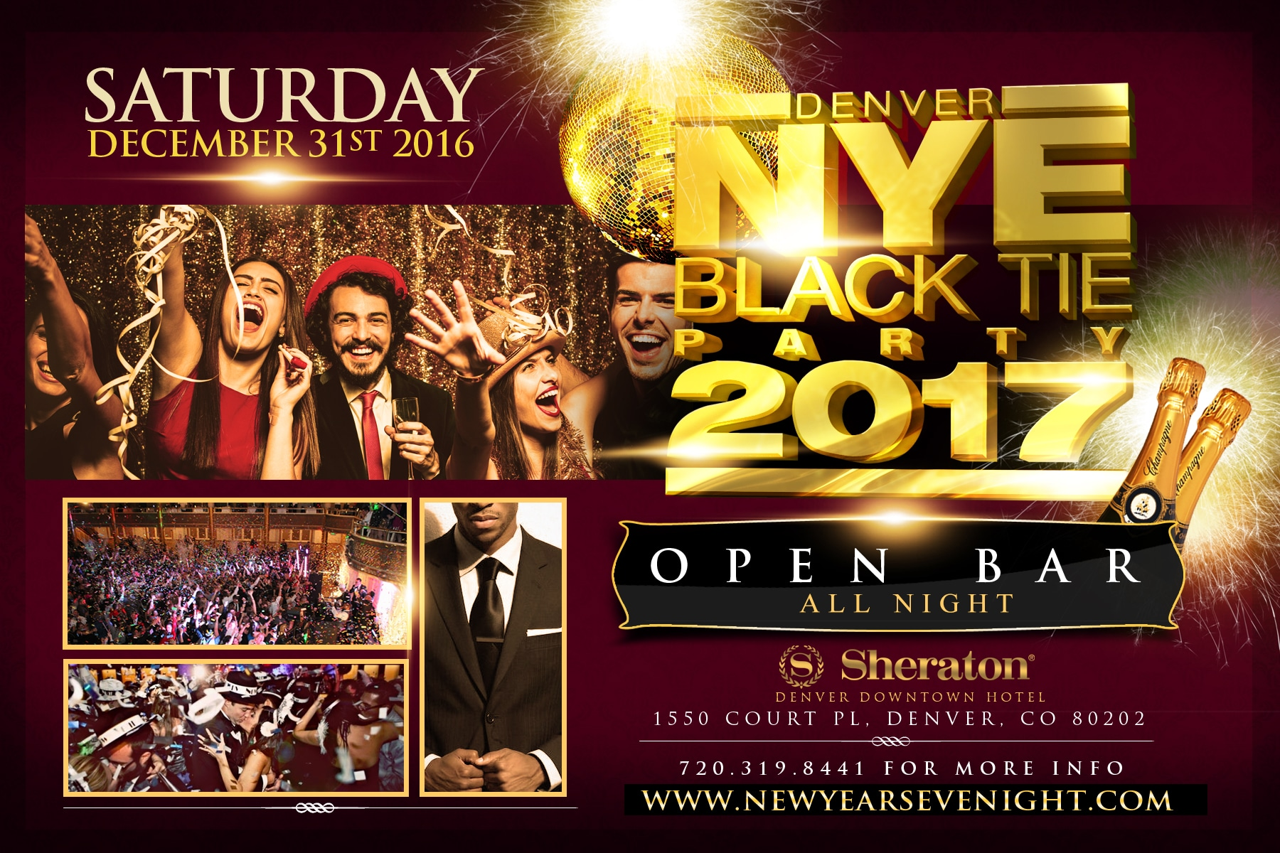 New Years Eve 2017 Parties